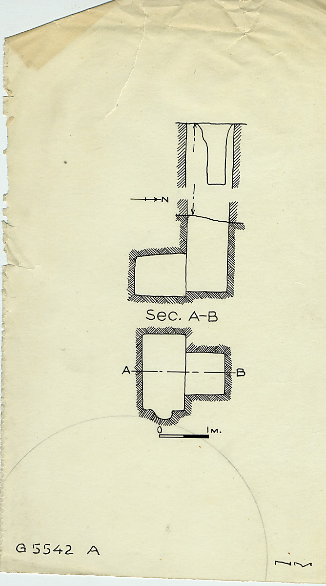 Maps and plans: G 2357 A = G 5554, Shaft A