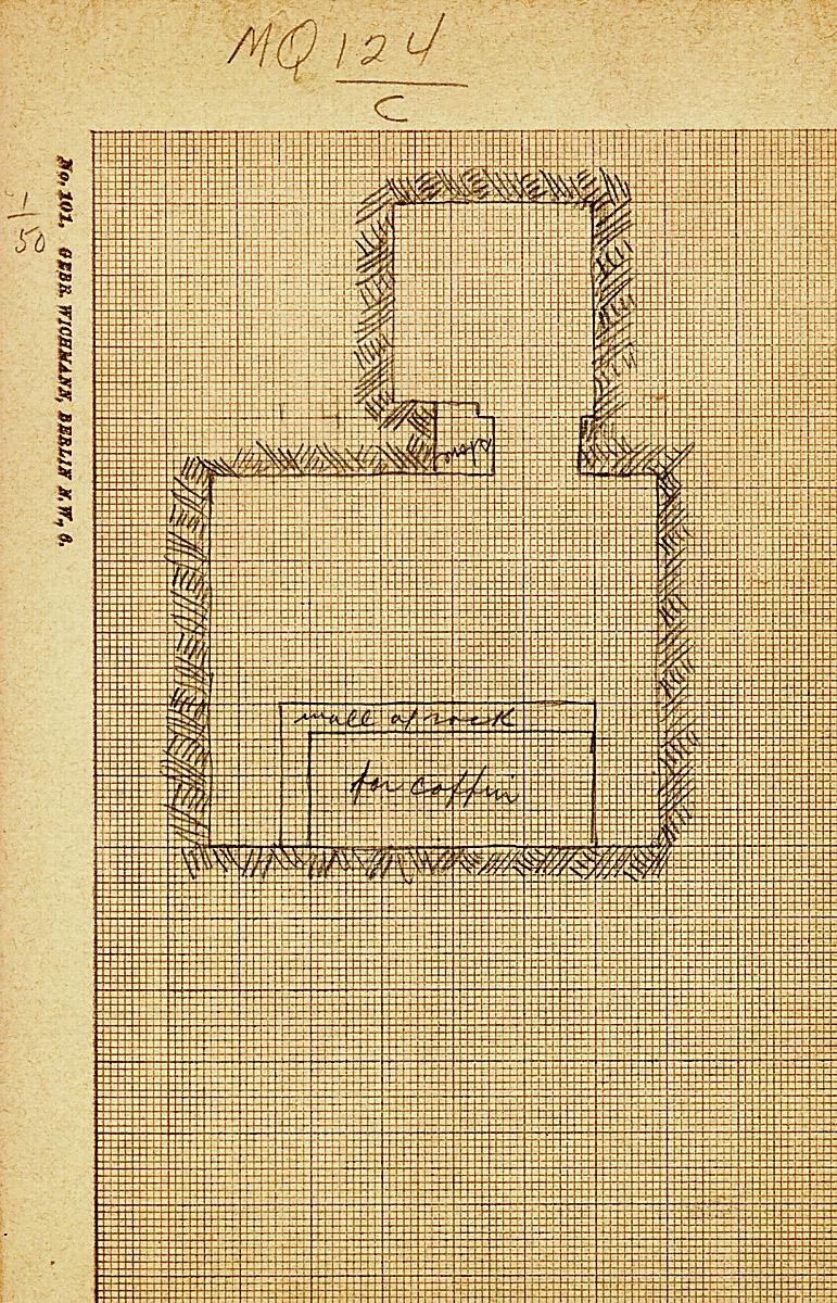 Maps and plans: MQ 124, Shaft C
