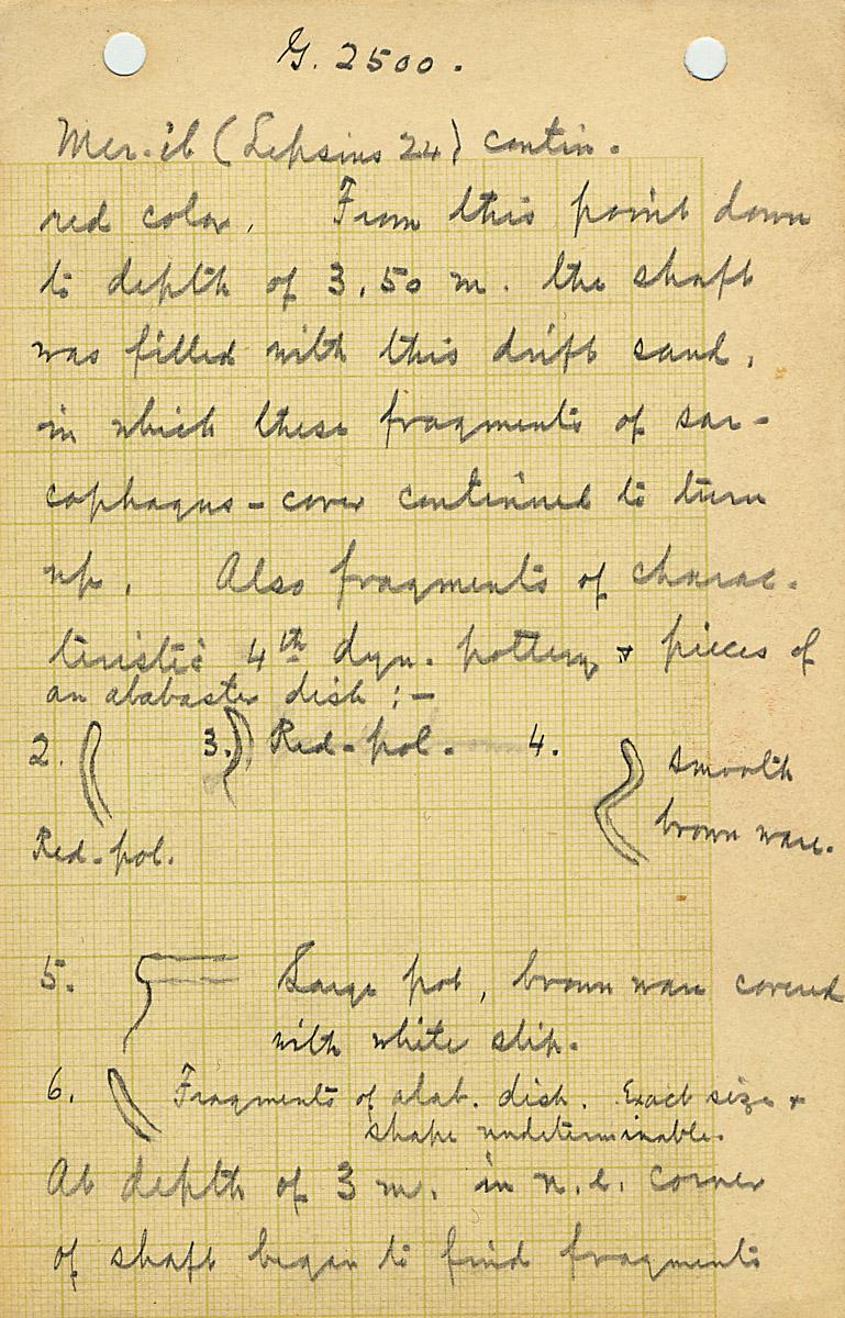 Notes: G 2100-I, Notes 3 (G 2500 = G 2100-I Merib)