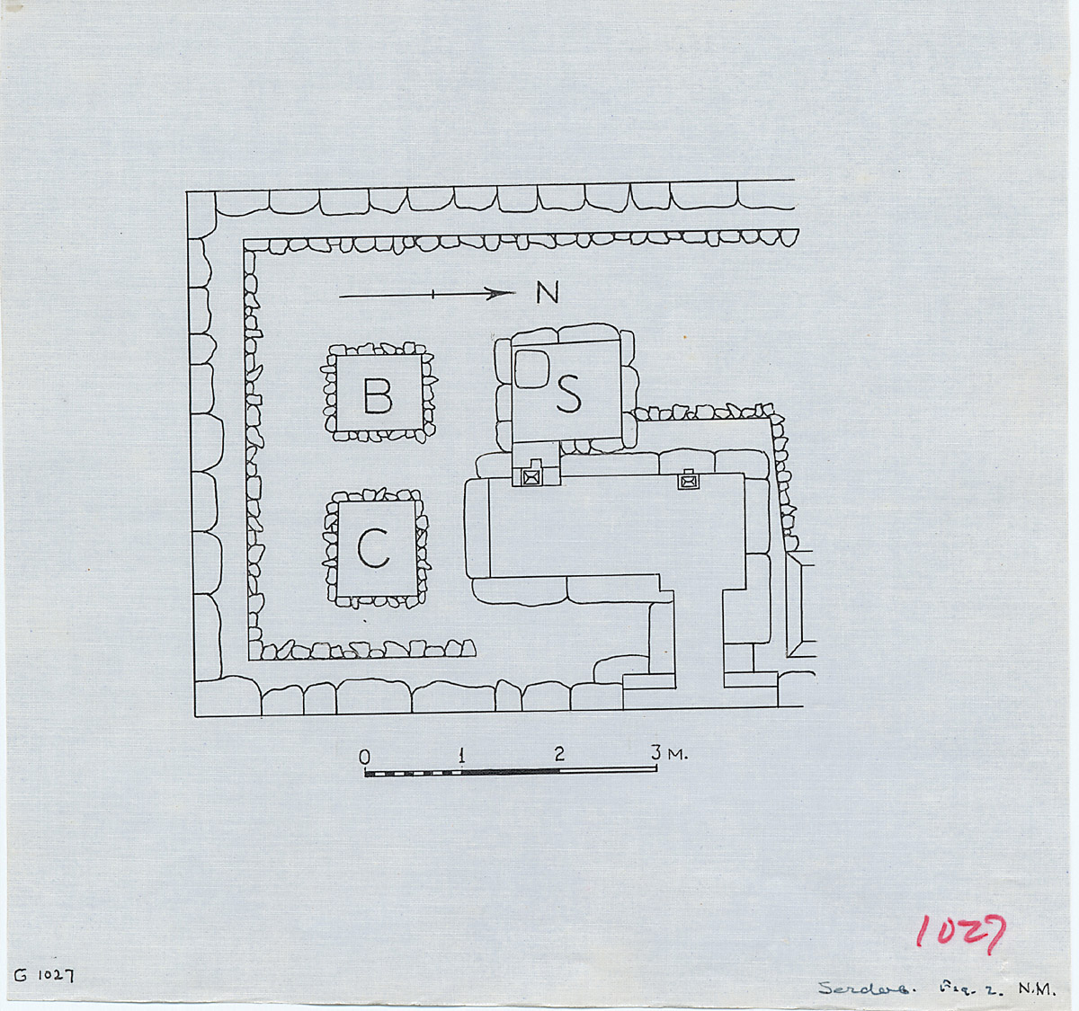 Maps and plans: G 1027, Plan (partial)