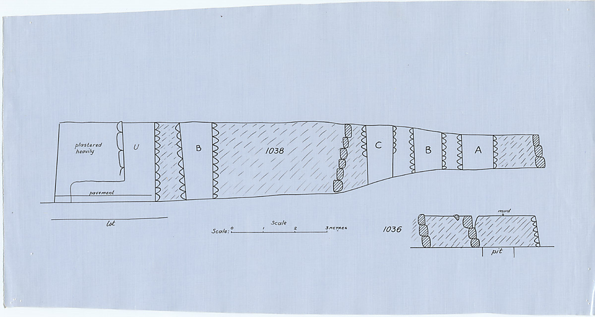Maps and plans: Section of G 1036 and G 1038