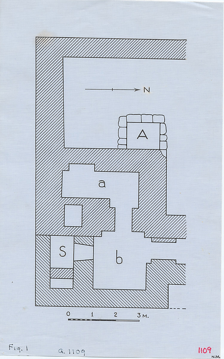 Maps and plans: G 1109, Plan of chapel