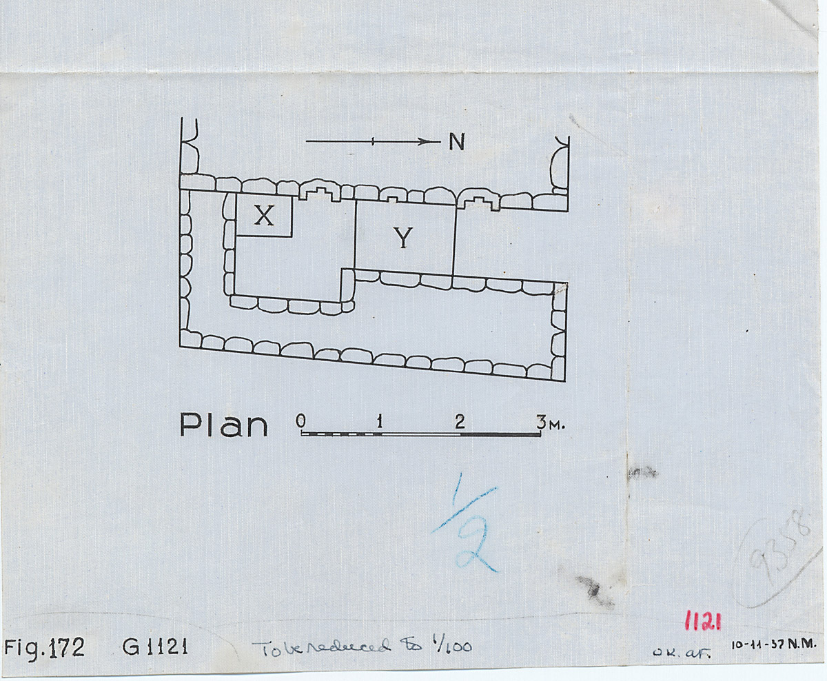Maps and plans: G 1121, Plan