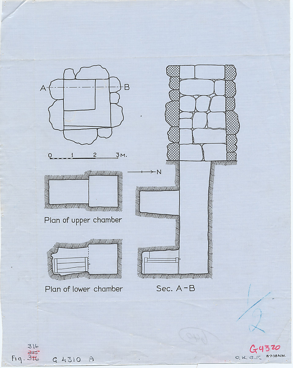 Maps and plans: G 4310, Shaft A