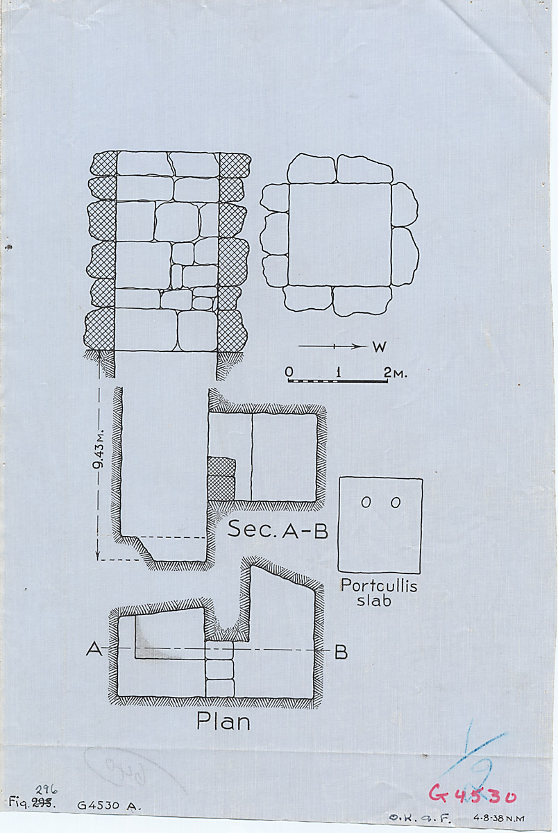 Maps and plans: G 4530, Shaft A