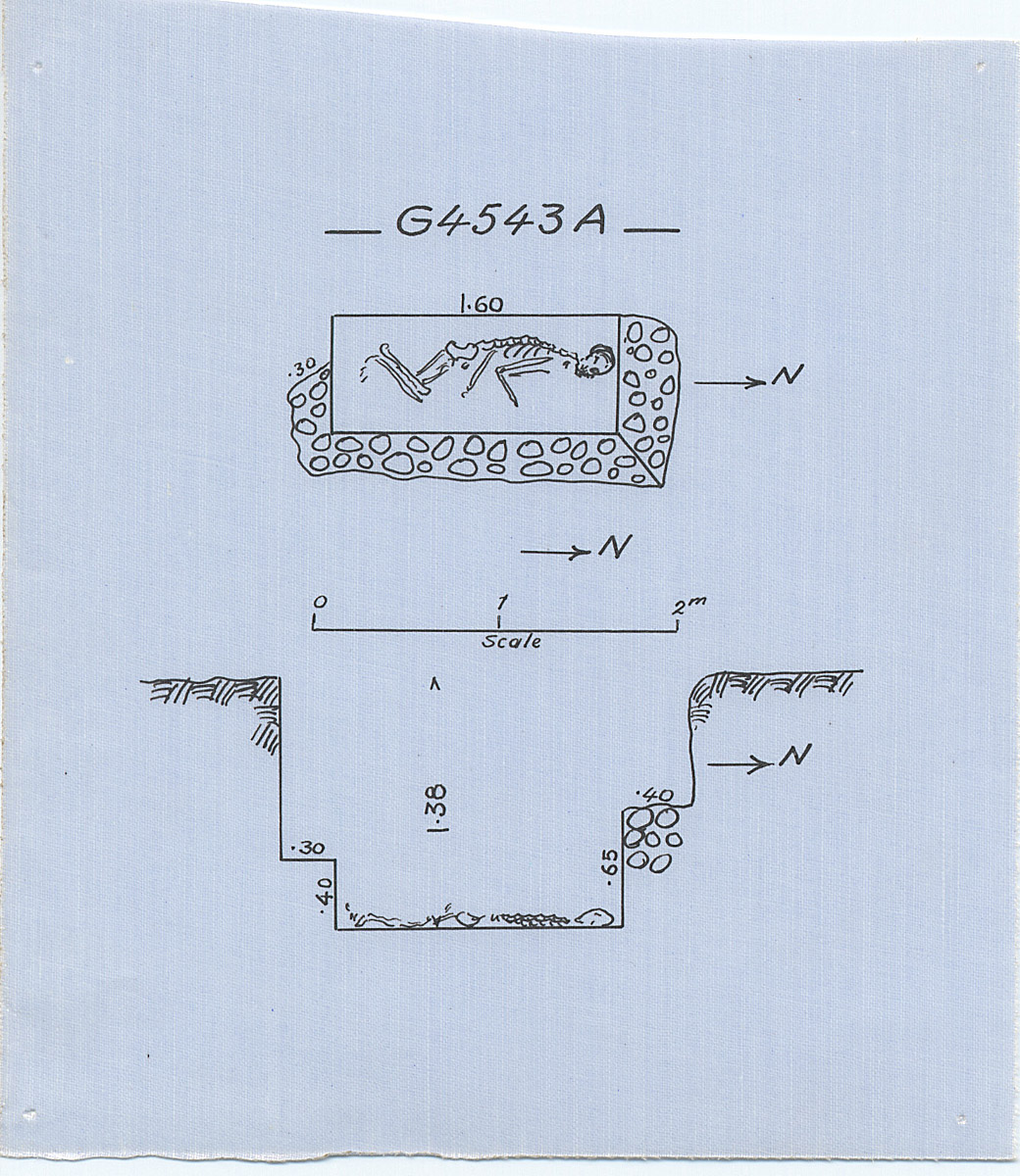 Maps and plans: G 4543, Shaft A