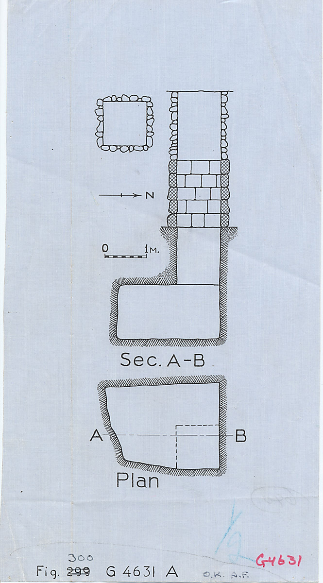 Maps and plans: G 4631, Shaft A