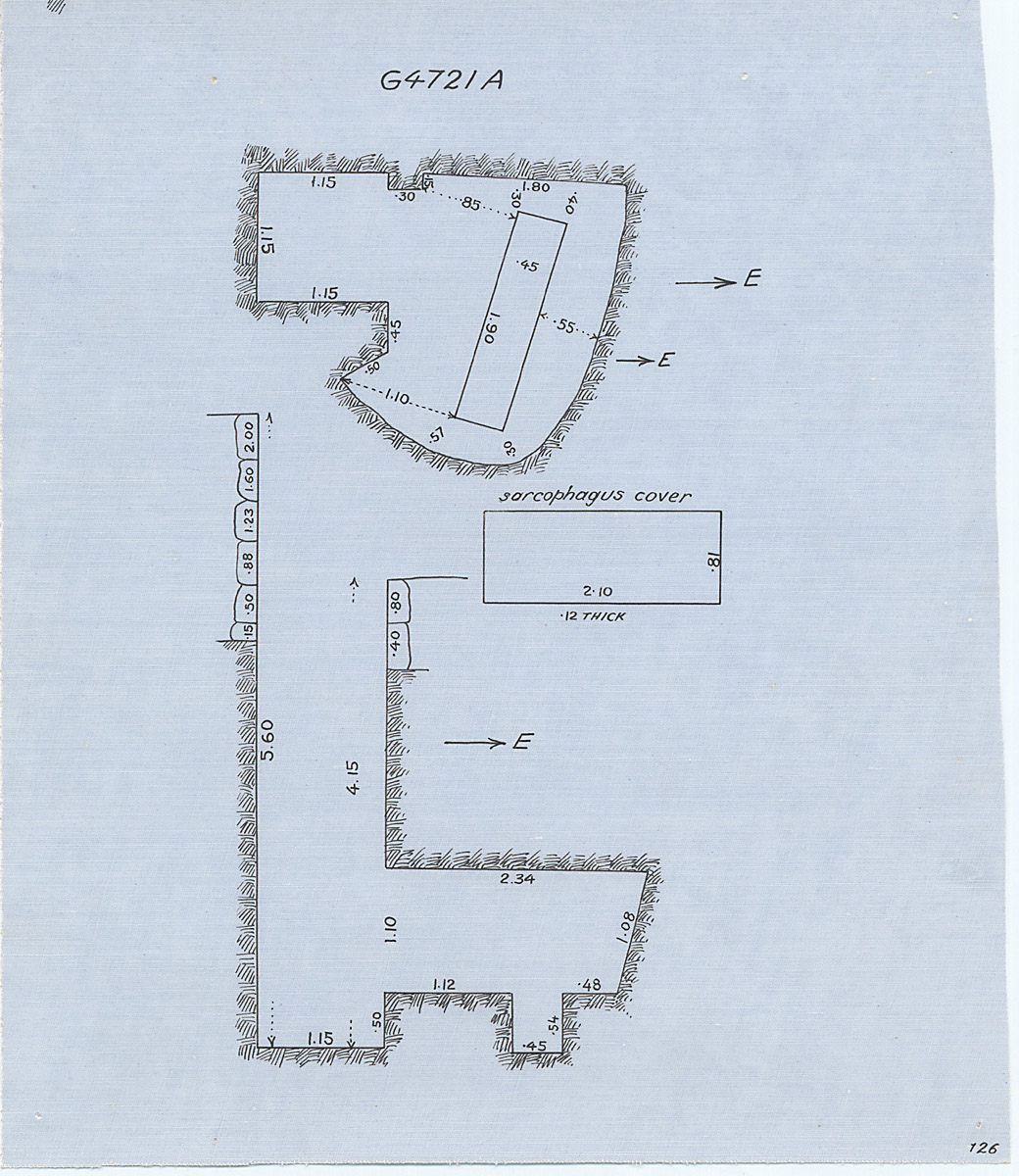 Maps and plans: G 4721, Shaft A