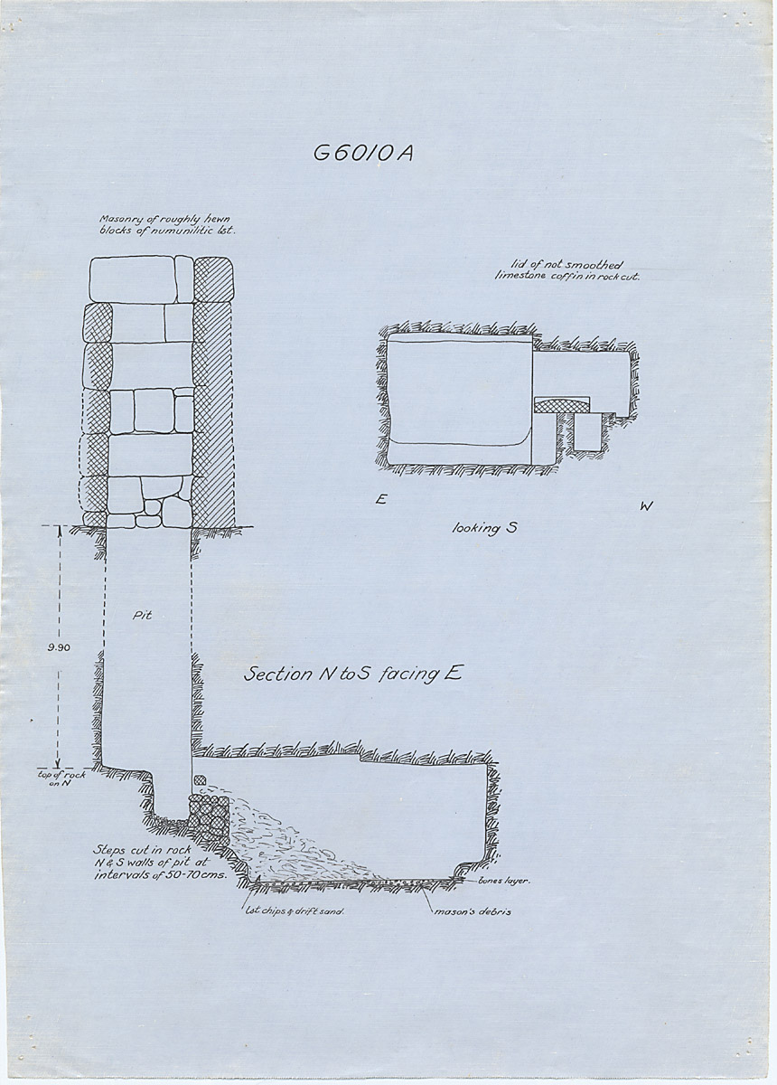 Maps and plans: G 6010, Shaft A