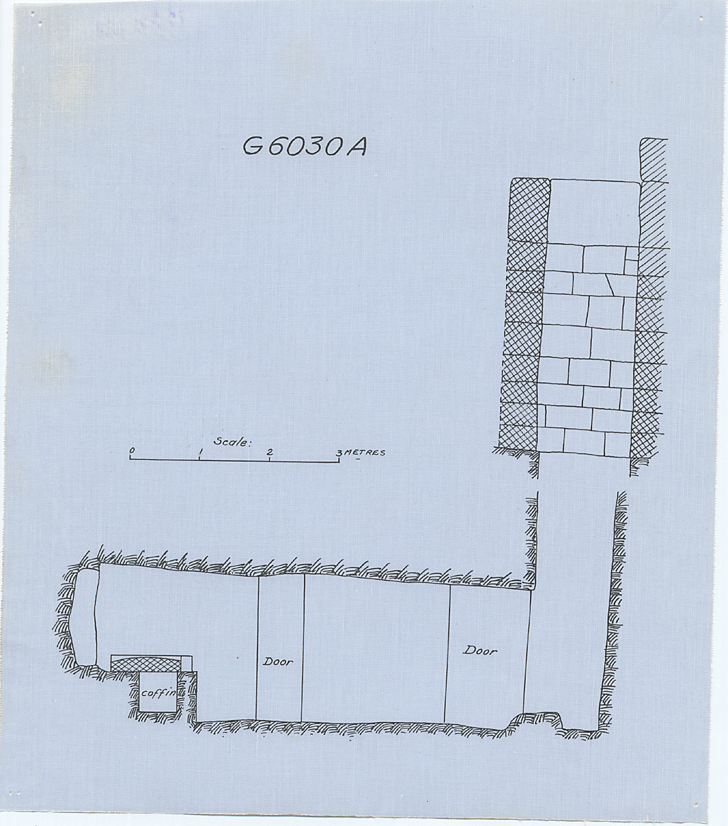 Maps and plans: G 6030, Shaft A