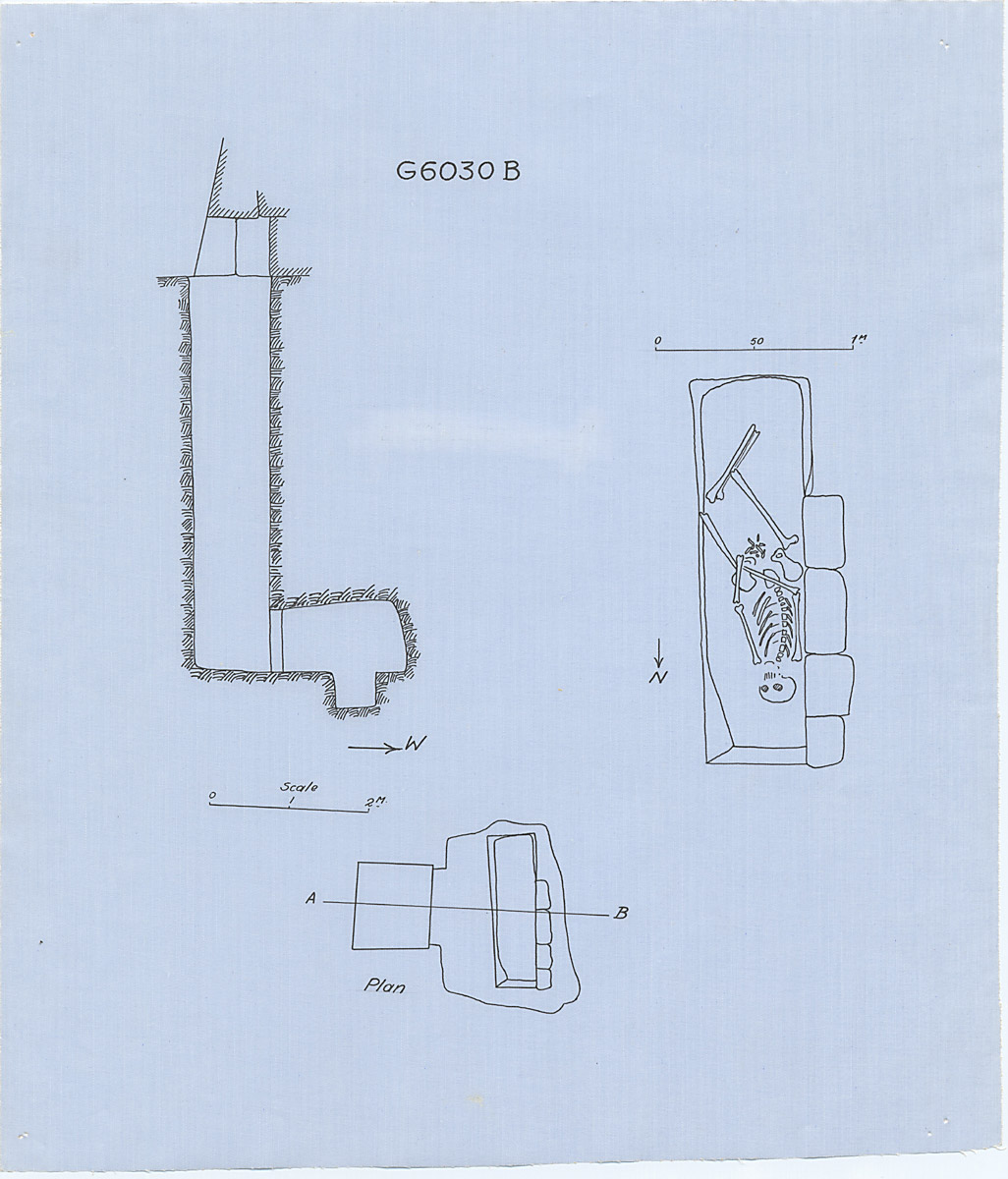 Maps and plans: G 6030, Shaft B