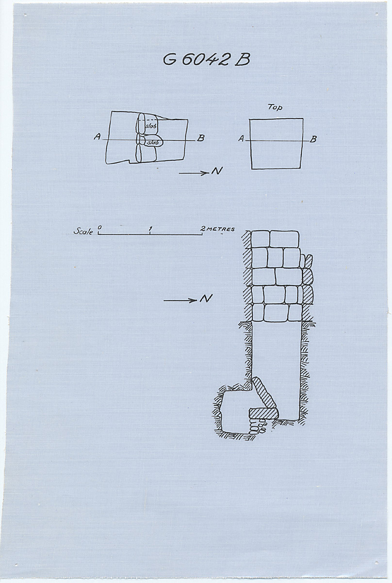 Maps and plans: G 6042, Shaft B