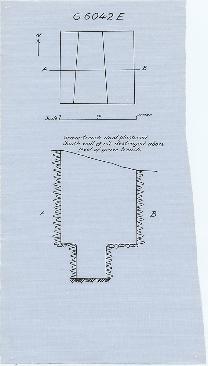 Maps and plans: G 6042, Shaft E