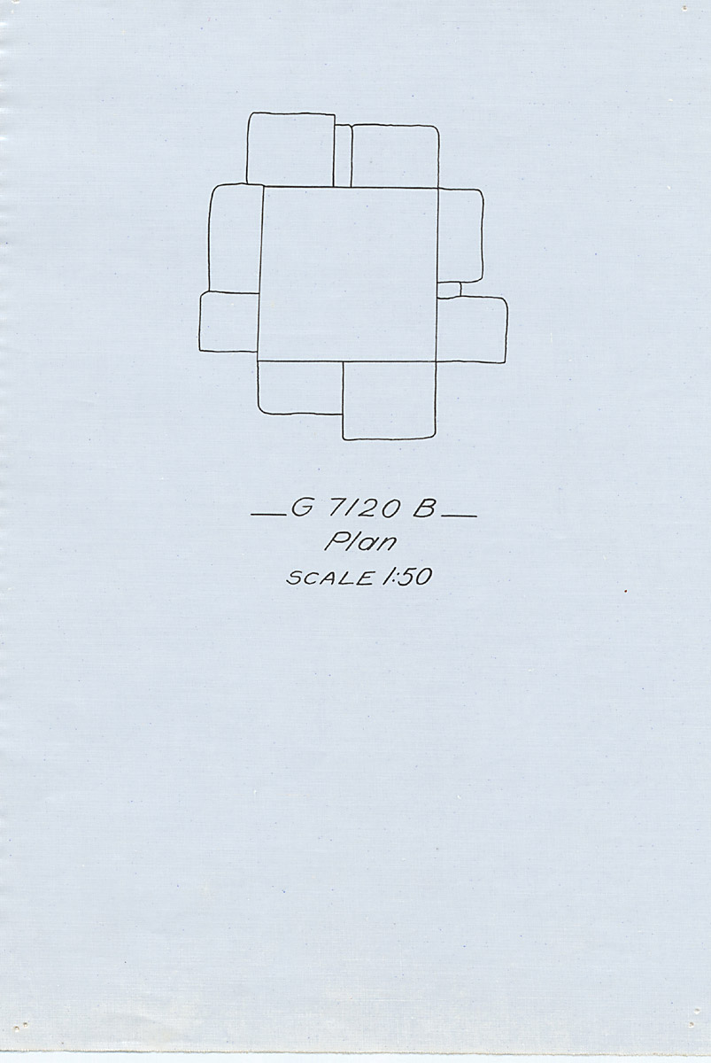Maps and plans: G 7110-7120: G 7120, Shaft B