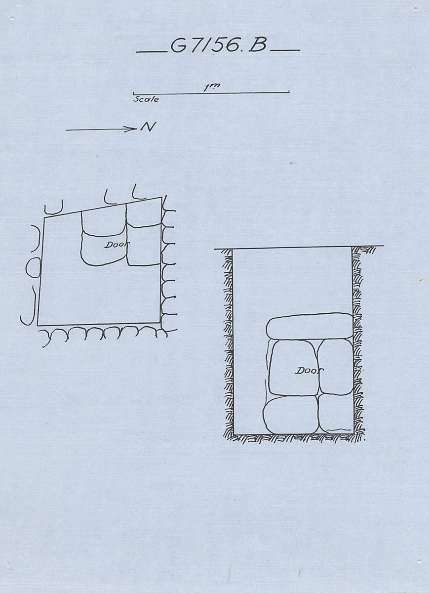 Maps and plans: G 7156, Shaft B