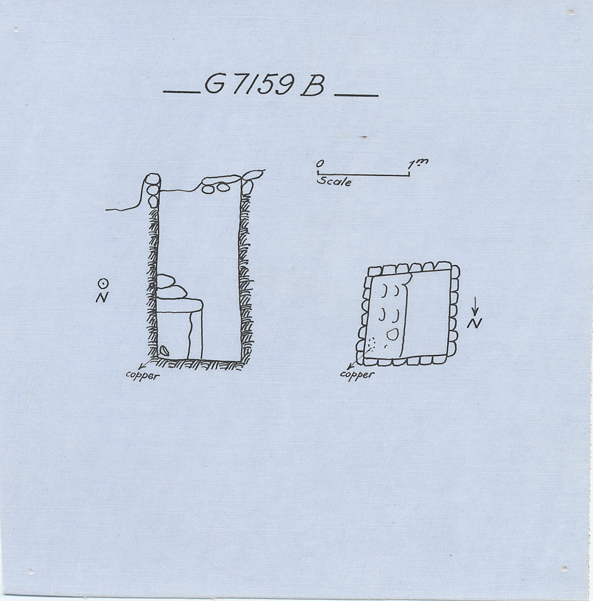 Maps and plans: G 7159, Shaft B