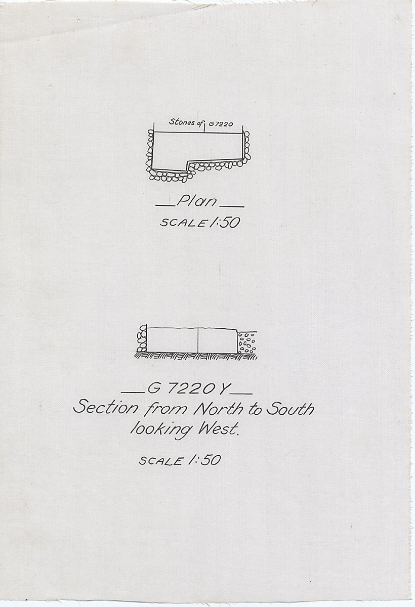 Maps and plans: G 7210-7220: G 7220, Shaft Y