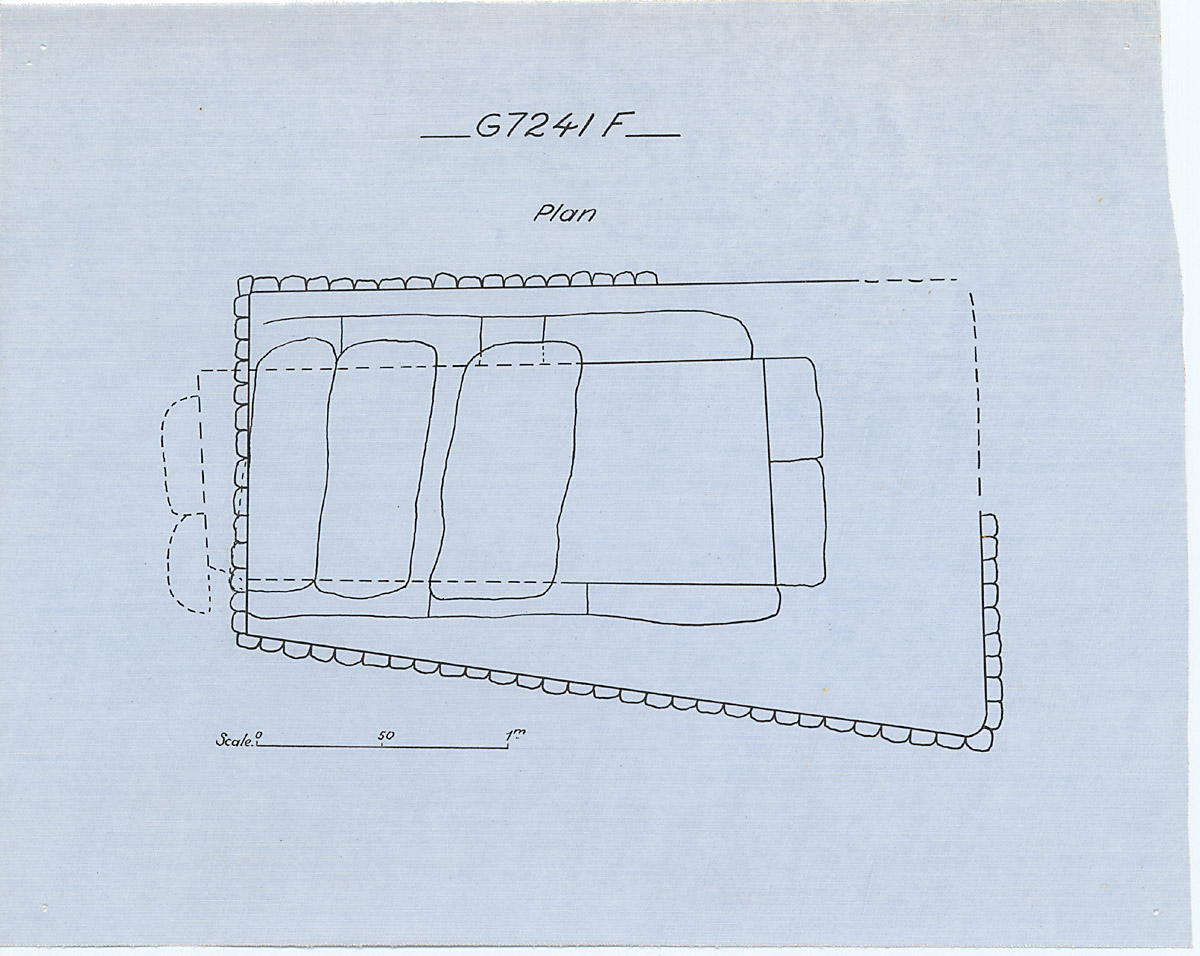 Maps and plans: G 7241, Shaft F
