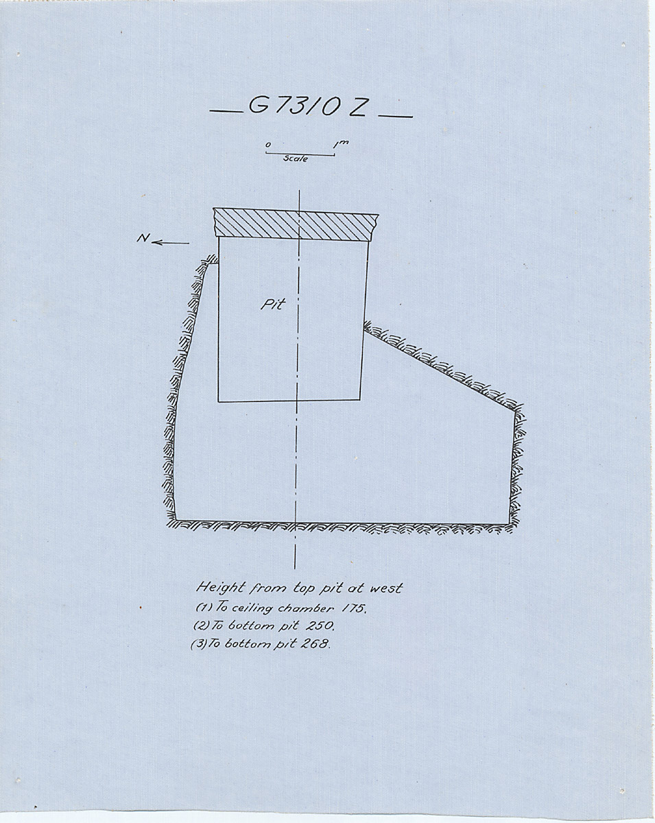 Maps and plans: G 7310-7320: G 7310, Shaft Z