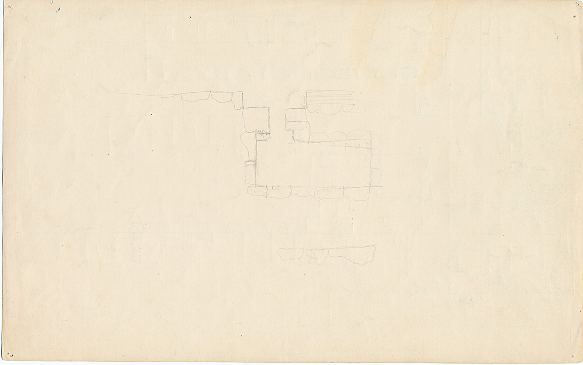 Maps and plans: G 1024, Plan of chapel
