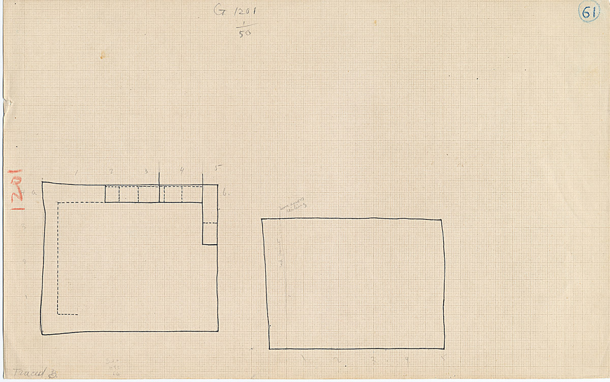 Maps and plans: G 1201, Shaft A