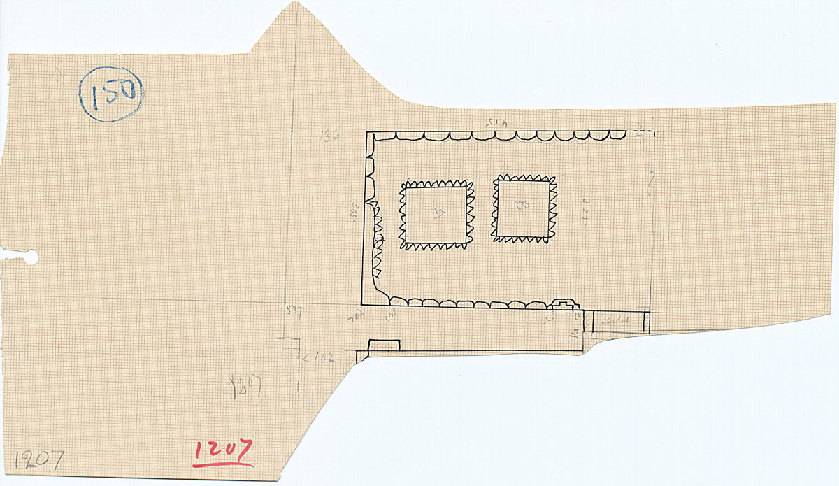 Maps and plans: G 1213, Plan (partial)