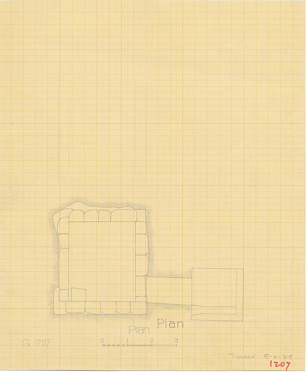 Maps and plans: G 1207, Shaft A