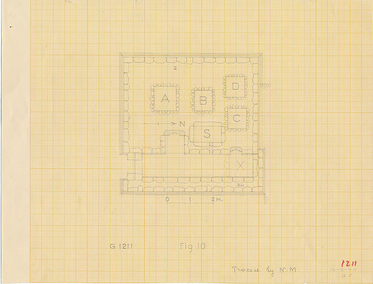 Maps and plans: G 1211, Plan