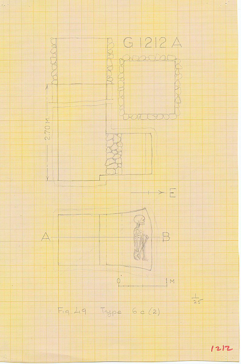 Maps and plans: G 1212, Shaft A