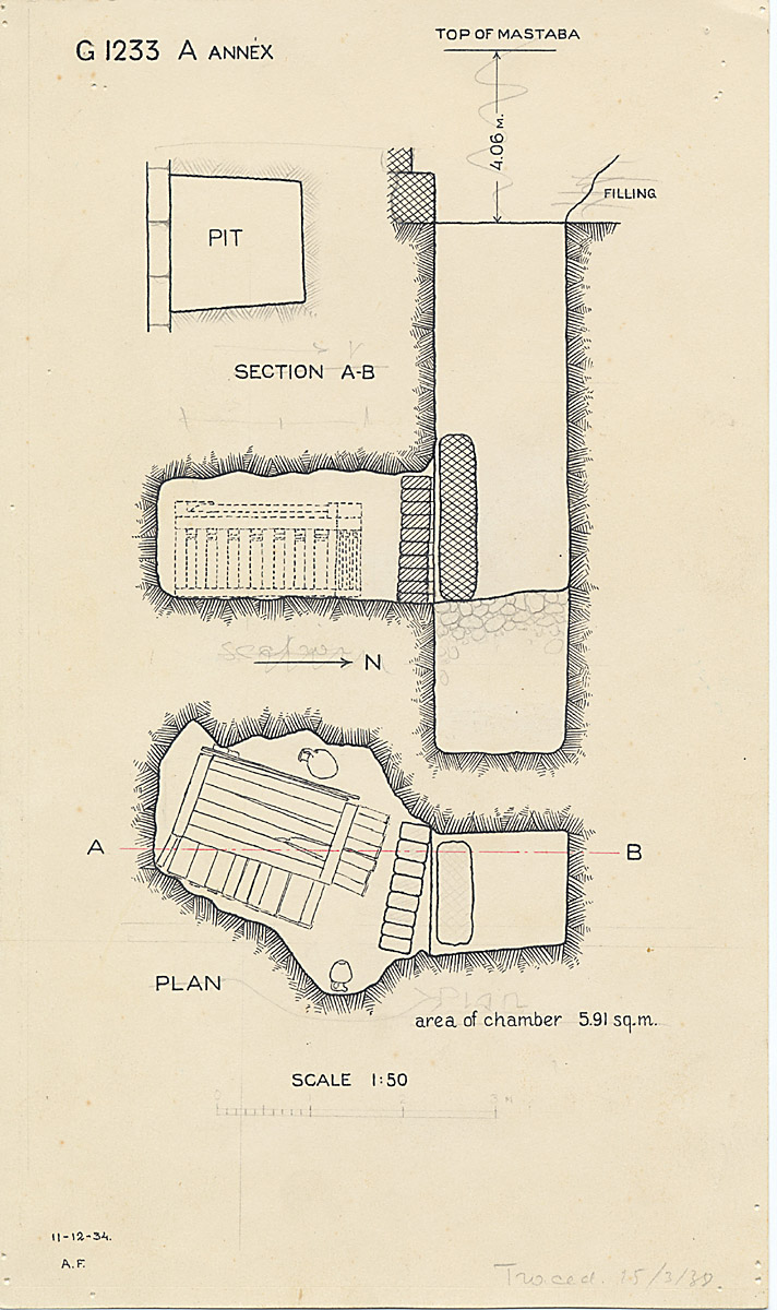 Maps and plans: G 1233-Annex, Shaft A