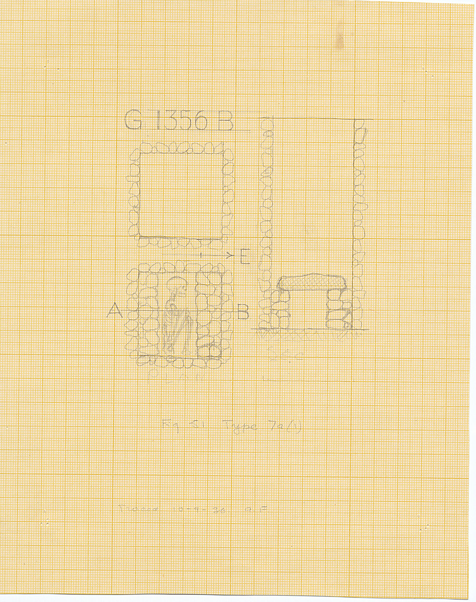Maps and plans: G 1356, Shaft B