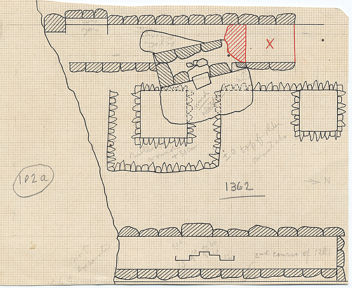 Maps and plans: G 1362, Plan (partial)