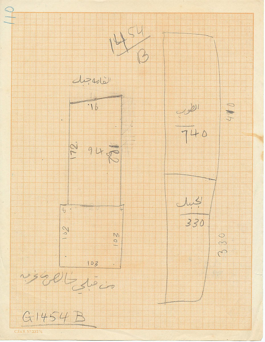 Maps and plans: G 1454+1455, Shaft B
