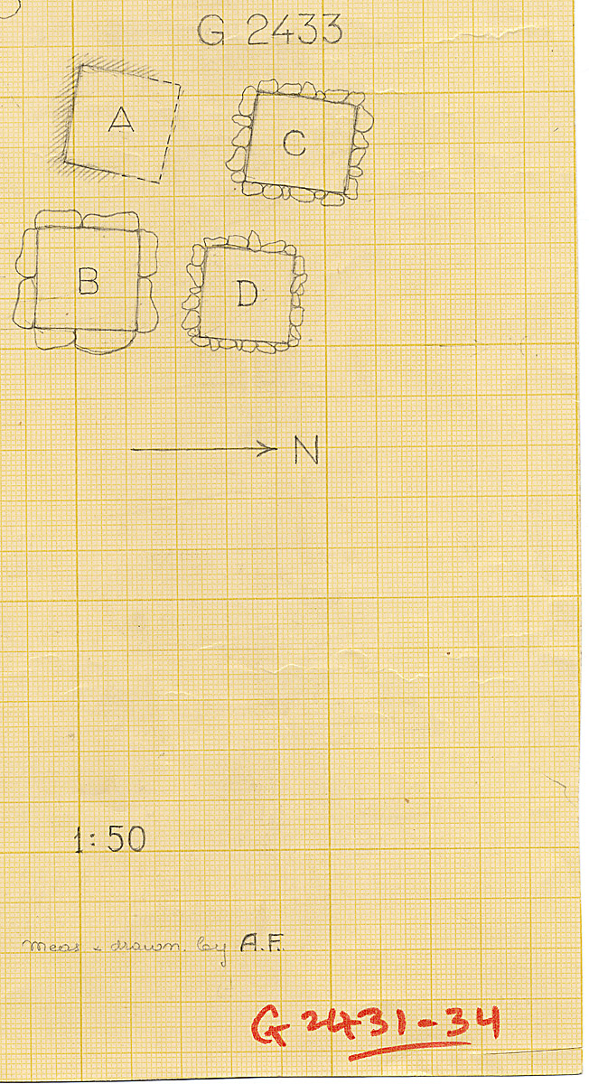 Maps and plans: G 2433, Plan