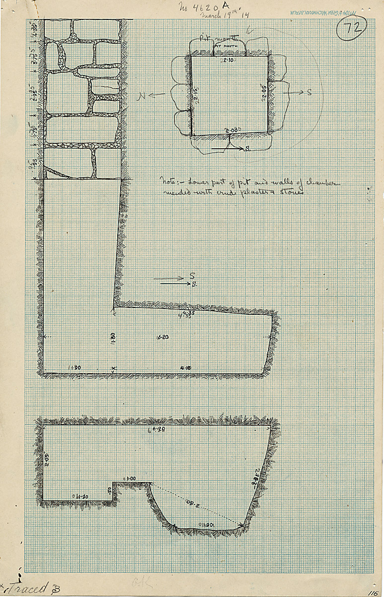 Maps and plans: G 4620, Shaft A