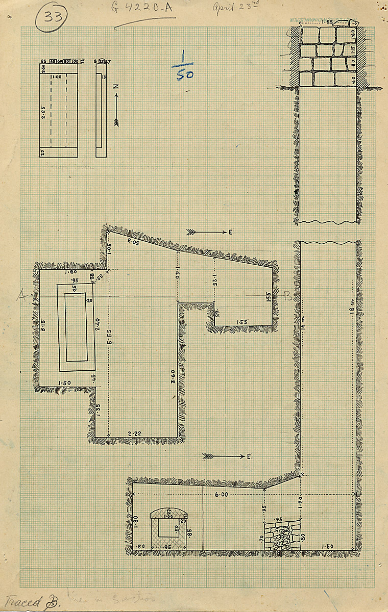 Maps and plans: G 4220, Shaft A