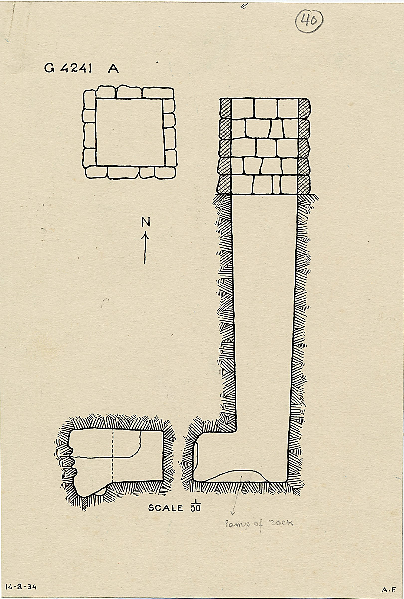 Maps and plans: G 4241, Shaft A