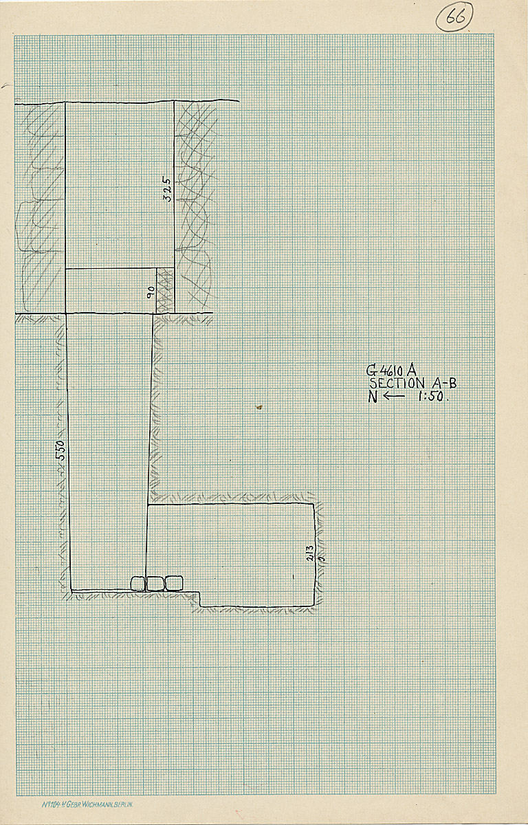 Maps and plans: G 4610, Shaft A