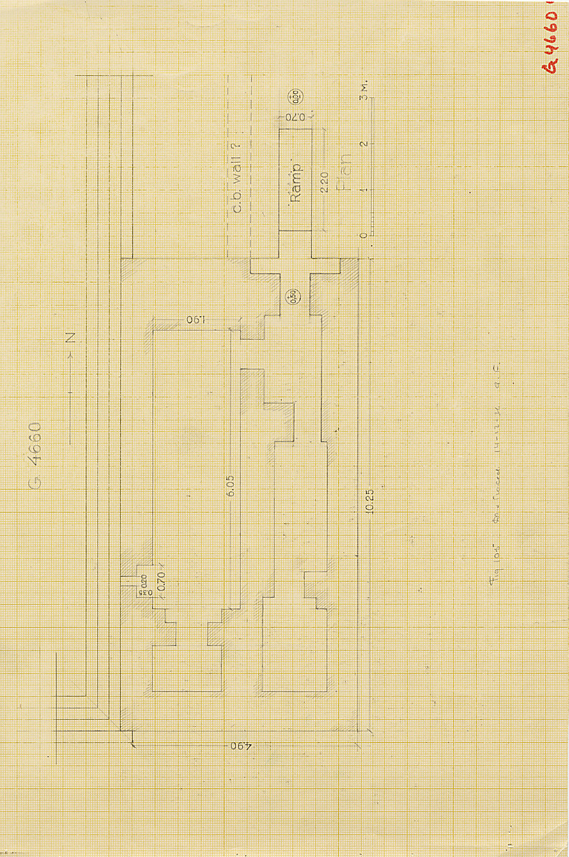 Maps and plans: G 4660, Plan of chapel