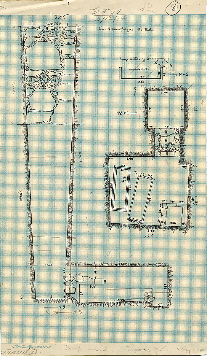Maps and plans: G 4710, Shaft A