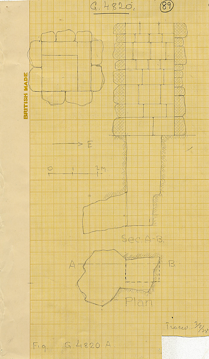 Maps and plans: G 4820, Shaft A
