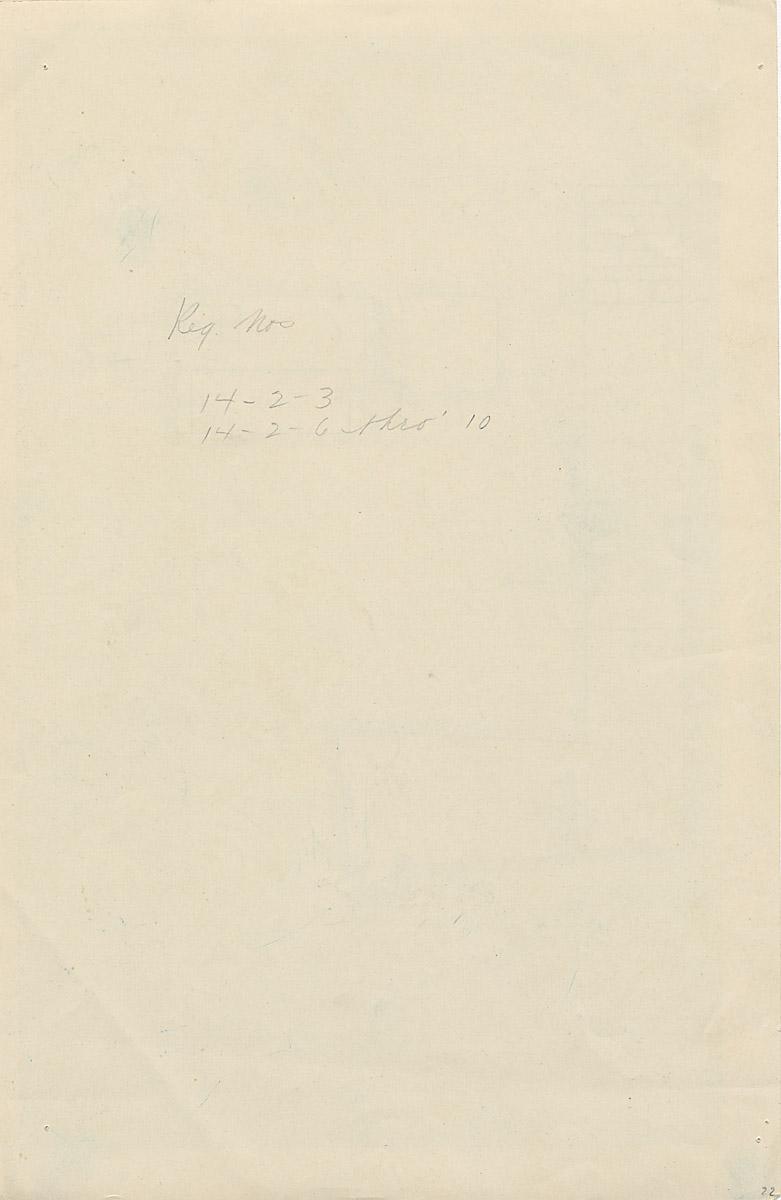 Notes: G 4833, Shaft B, notes