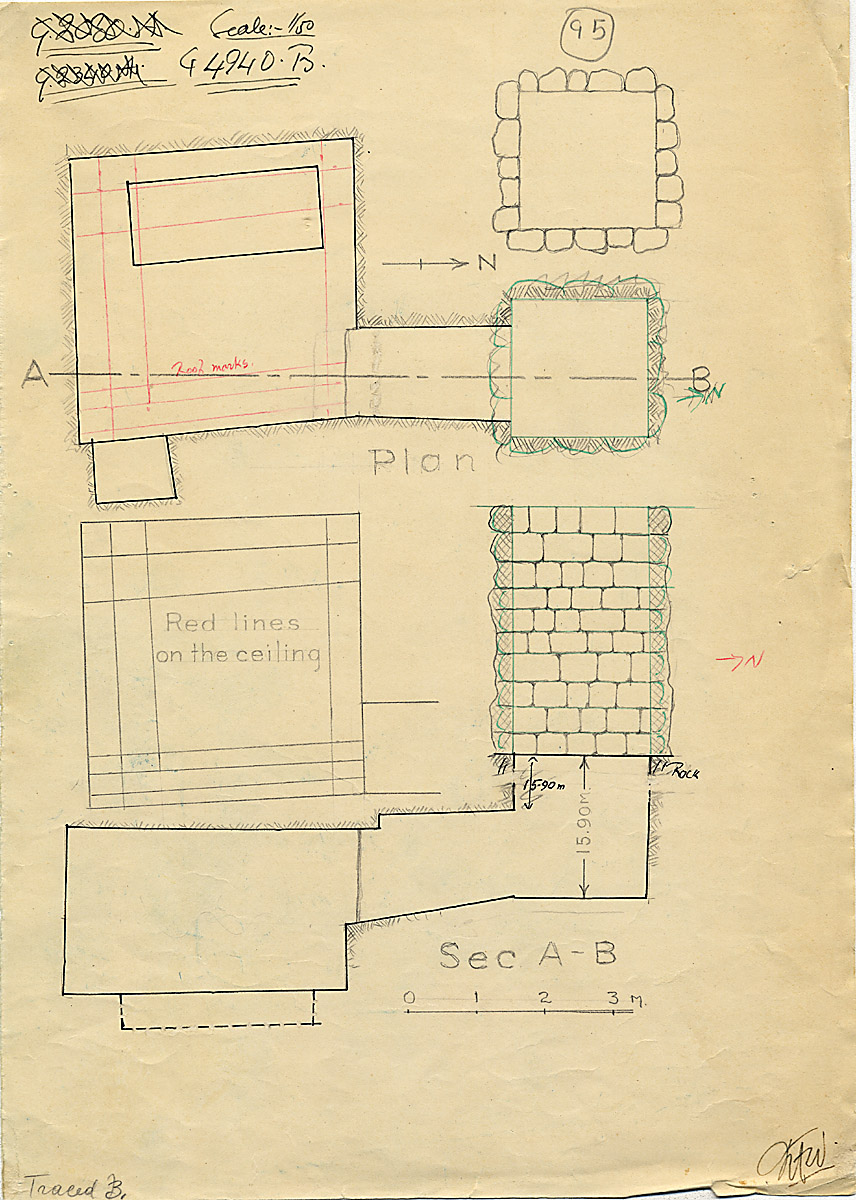 Maps and plans: G 4940, Shaft B