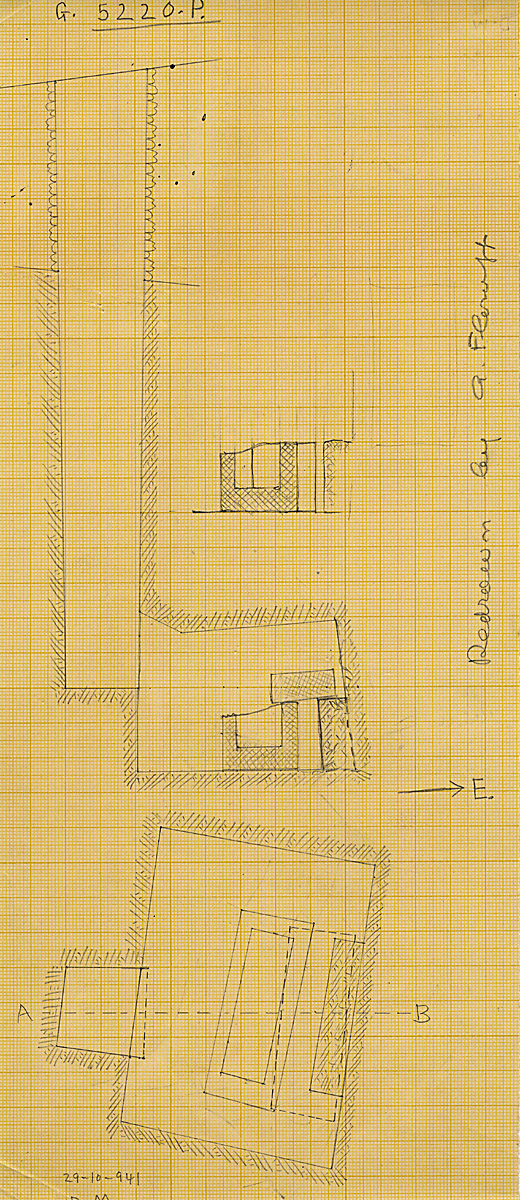 Maps and plans: G 5220, Shaft P