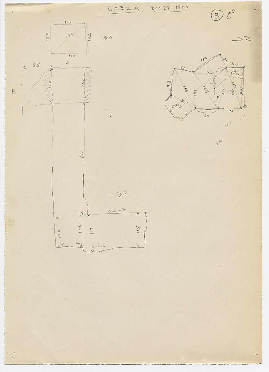 Maps and plans: G 6032, Shaft A