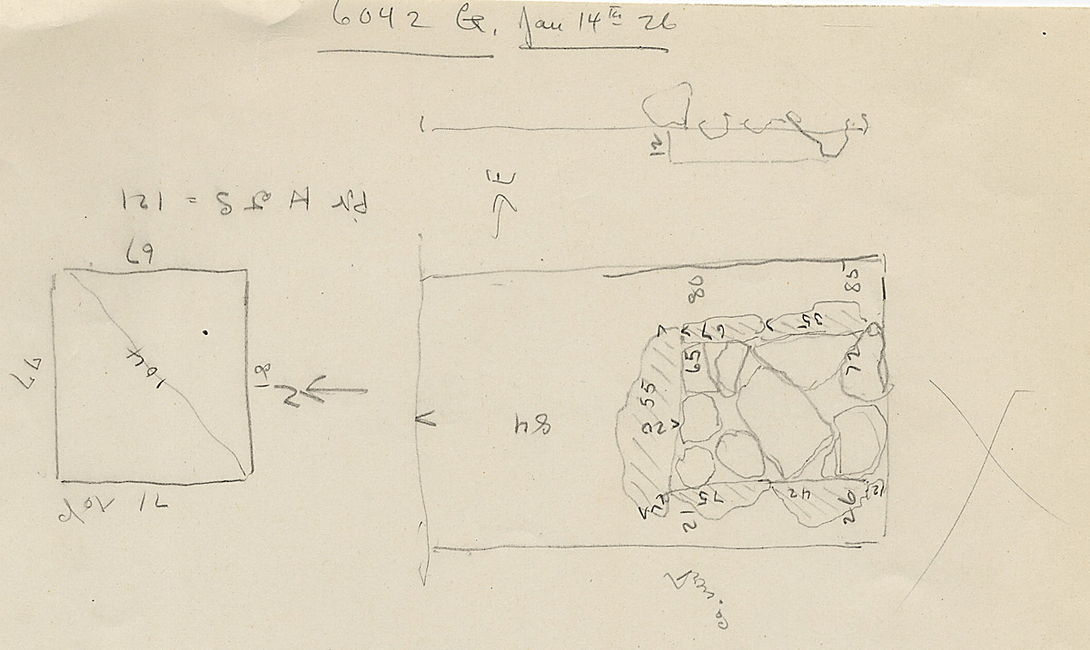 Maps and plans: G 6042, Shaft G