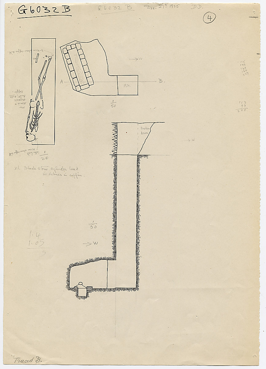 Maps and plans: G 6032, Shaft B