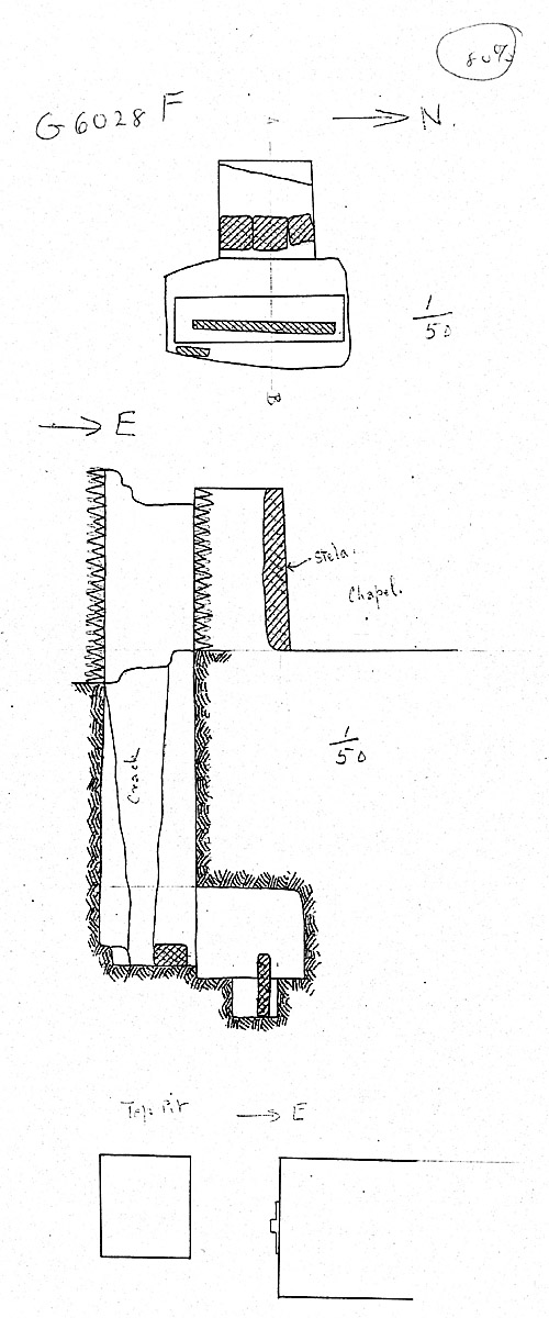 Maps and plans: G 6028, Shaft F