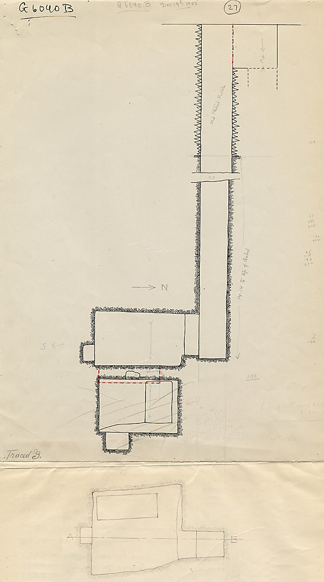 Maps and plans: G 6040, Shaft B