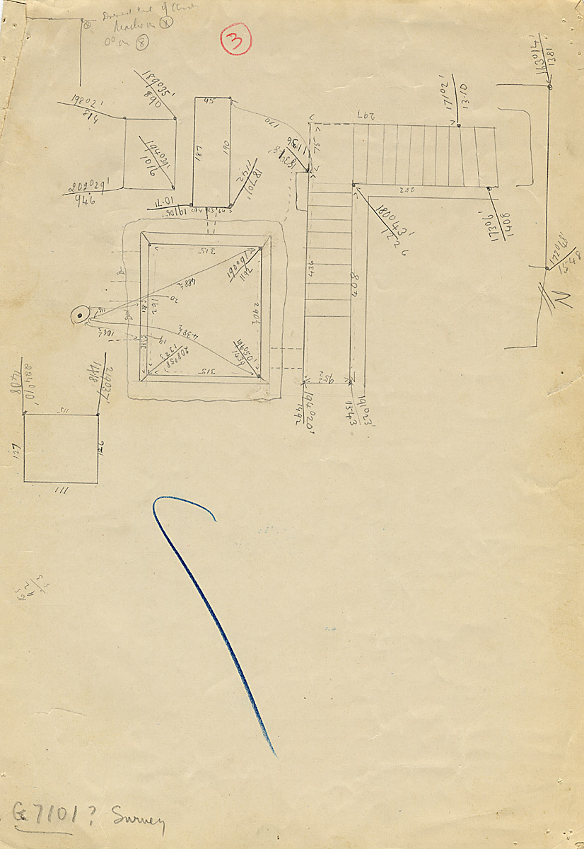 Maps and plans: G 7101, Plan